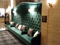 Hotel Lobby Banquette