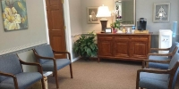Dental Office Waiting Area Before