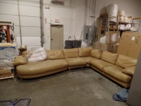 Luxury Leather Sofa Before