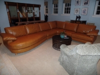 Luxury Leather Sofa After
